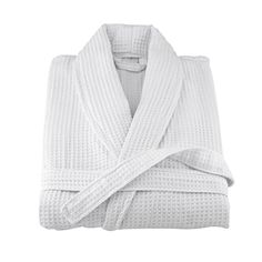 waffle robe in Sleepwear and Robes for Men Terry Towel, Jacquard Weave, Kimono Fashion, Classic White, Soft Fabrics, Sleeve Styles, Waffles, Weaving, Gowns
