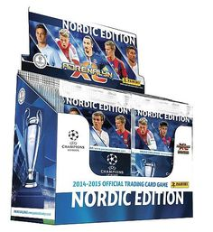 Booster box - Champions league fodboldkort 2014-2015