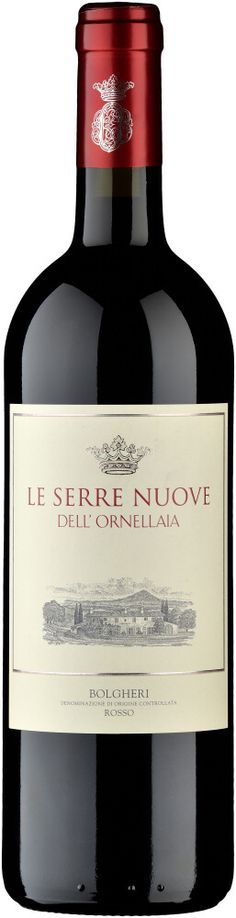 Le Serre Nuove dell'Ornellaia - Toscana Cabernet Sauvignon, Flüssiges Gold, Toscana, Red Wine, Alcoholic Drinks, Bottle, Greenhouses, Red Berries