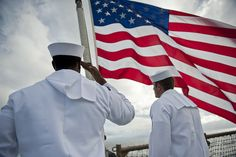 Sailors remember Pearl Harbor aboard USS Pearl Harbor. by Official U.S. Navy Imagery, via Flickr