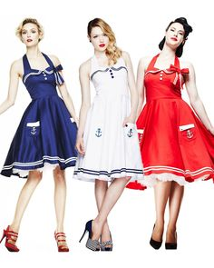 Blossom Costumes - Hell Bunny Motley 50s Womens Dress