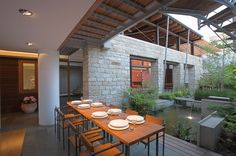 The open Air Dining Area