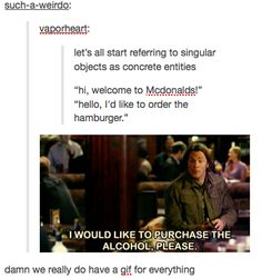 Supernatural is the king of tumblr.