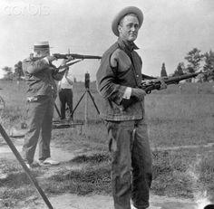 Franklin D. Roosevelt on a Rifle Range Date 1917  ♥❃❋✽✾❀❃ ♥       http://www.fdrlibrary.marist.edu/education/resources/biographies.html   http://en.wikipedia.org/wiki/Franklin_D._Roosevelt