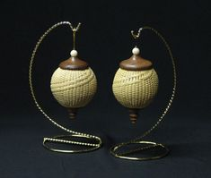 Nantucket Ball Ornaments--Maggie Silva - I took this class from Maggie!