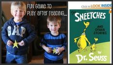 """Dr. Seuss' """"The Sneetches"""" Activity -  Pinned by @PediaStaff – Please Visit http://ht.ly/63sNt for all our pediatric therapy pins"""