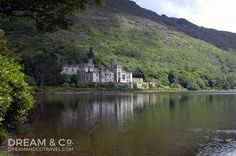 Kylemore Abbey off Ring of Kerry, Ireland