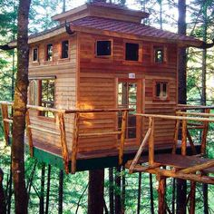 Who doesn't love a tree house? It's the perfect place to let your imagination run wild and you can d... - Nick Gerhardt