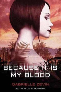"Because it is My Blood by Gabrielle Zevin.  The sequel to ""All These Things I've Done"""