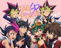 Tags: Anime, Rokuro, Yu-Gi-Oh! Duel Monsters, Yu-Gi-Oh!, Yu-Gi-Oh! ZEXAL, Yu-Gi-Oh! GX, Yu-Gi-Oh! ARC-V