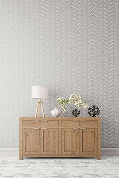 Herringbone simple Large Wall stencil - Herringbone stencil and Scandinavian stencil pattern for DIY projects - Wall stencils, Stencilit - Home Design Decoration Hall, Large Wall Stencil, Wall Stenciling, Wall Stencil Patterns, Home Decoracion, Decoration Inspiration, Decor Ideas, Easy Home Decor, My New Room