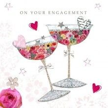 High quality, sophisticated and stylish products to enable people to make their gift and card-giving occasions exciting, heartfelt and memorable. Engagement Announcement Quotes, Engagement Cards, Floral Doodle, Anniversary Cards, Wedding Cards, Congratulations, How To Memorize Things, Stationery, Doodles