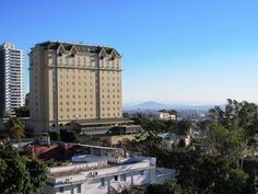 The Hilton Princess San Salvador - the view from my apartment
