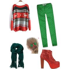 """""""Christmas!!!"""" by katersandtaters on Polyvore"""
