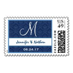 >>>Cheap Price Guarantee          Navy Blue and White Wedding Names Monogram M Postage Stamp           Navy Blue and White Wedding Names Monogram M Postage Stamp so please read the important details before your purchasing anyway here is the best buyThis Deals          Navy Blue and White We...Cleck Hot Deals >>> http://www.zazzle.com/navy_blue_and_white_wedding_names_monogram_m_postage-172794658048881631?rf=238627982471231924&zbar=1&tc=terrest