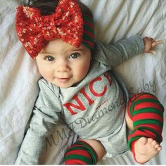 Nice Baby Christmas Outfit-christmas Outfit-babysfirst First Christmas Outfit-Holiday Outfit
