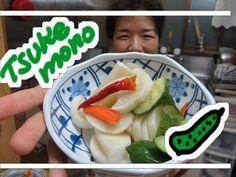 Tsukemono conserva de legumes facio de fazer - YouTube