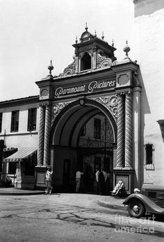 Paramount Studios 1937 by Sad Hill Archive - Paramount Studios 1937 Photograph - Paramount Studios 1937 Fine Art Prints and Posters for Sale