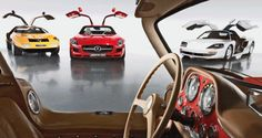 The Evolution of Mercedes-Benz Gullwing Supercars in 9 Cars Since 1952