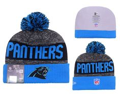 2558479759a NFL Carolina Panthers New Era Beanies Sports Knitted Caps Hats