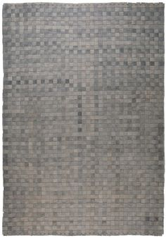Pure Rock: The Rock: Specially-processed leather, cut into strips and woven by hand into an exceptional carpet with a unique vintage look. Unique Vintage, Vintage Looks, The Rock, Carpet, Collections, Pure Products, Decor, Decoration, Blankets