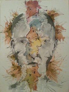 Watercolor ( international watercolor biennial) by mahmut benneyim