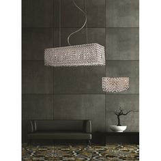 My favourite from Castlegate Lights: AZzardo Roma 8 Light Halogen Crystal Ceiling Pendant  Product Code: MD2116B-8 £460