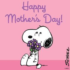 SNOOPY~HAPPY MOTHER'S DAY!