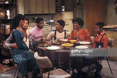 From left, American actors BernNadette Stanis, Ben Powers, Jimmie. Good Times Tv Show, Ralph Carter, Bernnadette Stanis, Janet Jackson Rhythm Nation, Ebony Magazine Cover, I Got Married, Black History Month, Photo Archive, American Actors