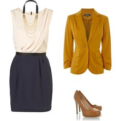 Created this myself...gold and blue work outfit