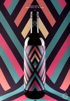 MOTIF Fine Art Wine by Stefan Leitner, via Behance