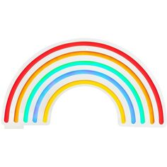 Sunnylife Home Rainbow Neon Led Wall Light ($200) ❤ liked on Polyvore featuring home, lighting, wall lights, multicolor, neon light, wall mounted sconces, wall-mount light, wall-mounted lamps and wall-mount lamp