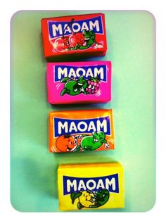German candies called Maoam, sure to put a smile on your face... <3