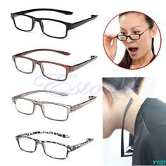 New Light Comfy Stretch Reading Glasses Presbyopia 1.0 1.5 2.0 2.5 3.0 Diopter--J117