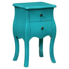 Lena Side Table in Ironto Blue at Joss & Main