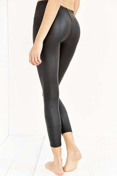Out From Under Matte Vegan Leather Legging - Urban Outfitters