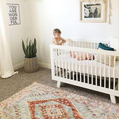 babyletto on Instagram: nothin\' sweeter than seeing your babe with your babe!  #besties • #babyletto Hudson crib • : designed by mama Jade Alvarez.magnolia