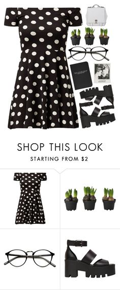 """Polka Dots"" by patricia-pfa ❤ liked on Polyvore featuring Windsor Smith, Proenza Schouler and emmastaggies"
