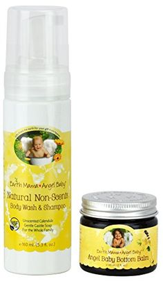 Introducing Earth Mama Angel Baby NonScented Shampoo and Body Wash with Bottom Balm. Get Your Ladies Products Here and follow us for more updates!