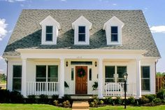 Charming Home Plan with Options Floor Master Suite CAD Available Corner Lot Country DenOfficeLibraryStudy PDF Photo Gallery Traditional Architectural Desig. Cottage House Plans, Small House Plans, Cottage Homes, Country House Plans, One Level House Plans, Square House Plans, Architectural Design House Plans, Architecture Design, Future House