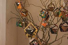 DIY récup' [Tuto] : L'arbre-calendrier de l'Avent