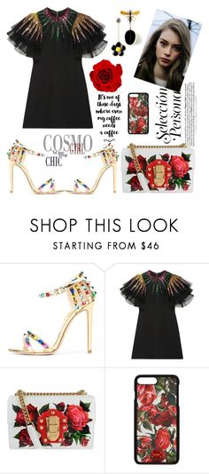 """FSJ stylish fashion high heels sandals"" by fsjamazon ❤ liked on Polyvore featuring Gucci and Dolce&Gabbana"