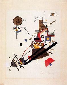 Wassily Wassilyevich Kandinsky, the first modern abstract artist