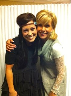 Kari Jobe and Beth Moore!!!!! Seriously this is the best picture EVER!! I love both of those ladies so much!! Never met either one but I have been so greatly blessed by these two!!