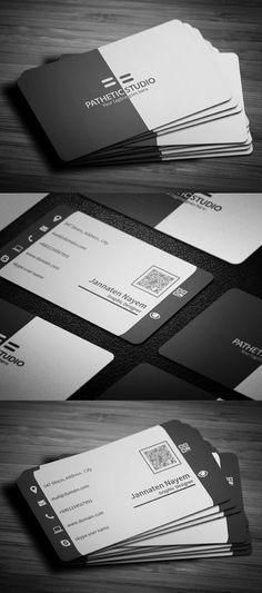 Socialbusinesscardbyflowpixel d5dsm1v business cards creative business card template fbccfo Image collections