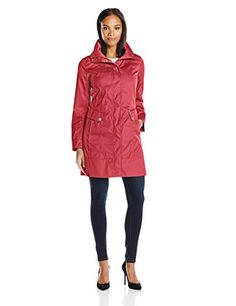 Cole Haan Women's Packable Anorak Raincoat ** Read more at the image link.