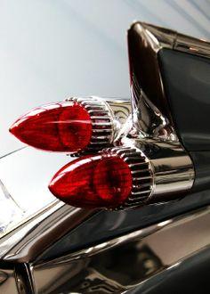 59 Cadillac Tail Light's Cadillac Ats, Cadillac Eldorado, Rat Rods, Vintage Motorcycles, Cars And Motorcycles, Vintage Cars, Antique Cars, Vintage Ideas, Retro Cars