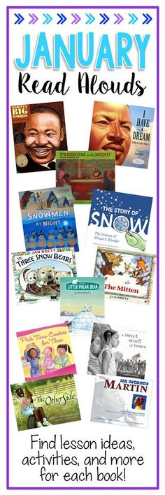 Books and lessons to use in January!