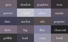 Autorin und Illustratorin Ingrid Sundberg hat einen Thesaurus der Farbnamen erstellt, um den Schriftstellern dieser Welt eine kreative Stütze an die Hand zu geben.