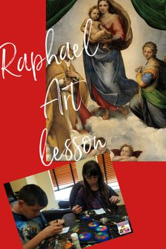 Raphael Art history lesson #arthistory #resaissance #artiststudy History Lessons For Kids, History Projects, Art Lessons, Artists For Kids, Art For Kids, Elements Of Art Space, Renaissance And Reformation, School Of Athens, Art History Timeline